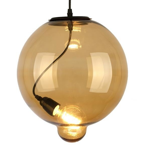 Lampa wisząca Modern Glass Bubble Yellow